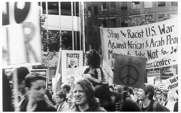 War Protest in San Francisco