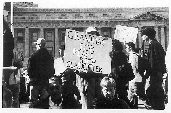 Grandma's for Peace in San Francisco