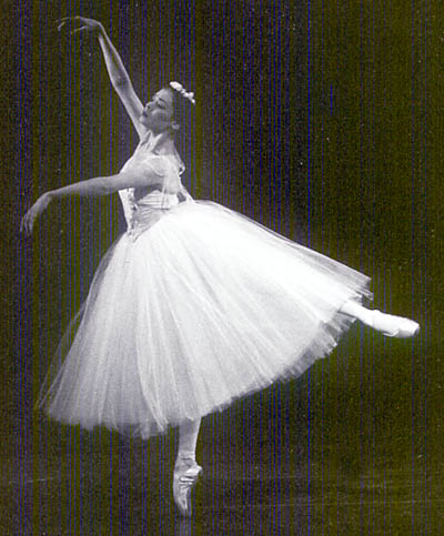 Kate Lydon Dancing in Giselle with American Ballet Theater