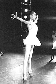 Kate Lydon Dancing Apollo with American Ballet Theatre