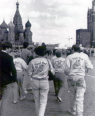 Cloggers on Red Square